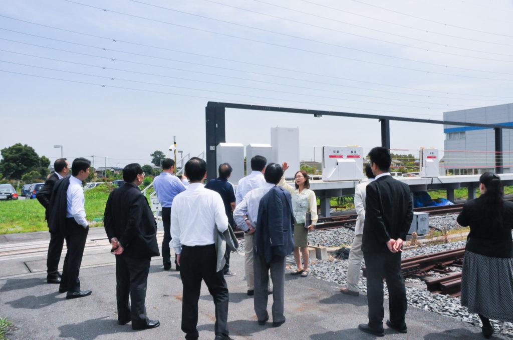 日本信号研修風景
